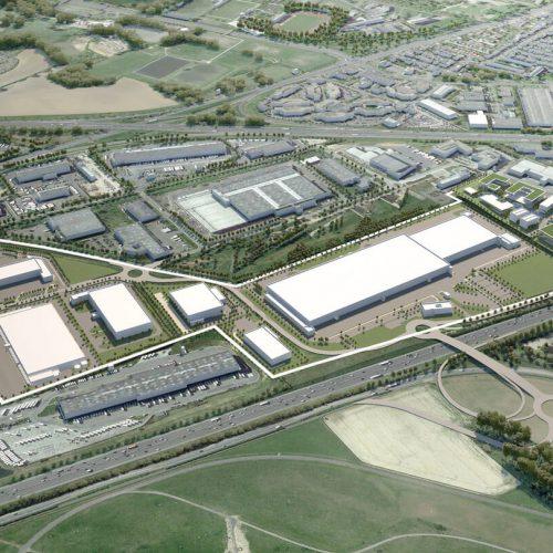 Aménagement et développement d'un parc logistique | 30 hectares | Wissous (France)